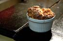 Pork Crackle & Asparagus Souffle
