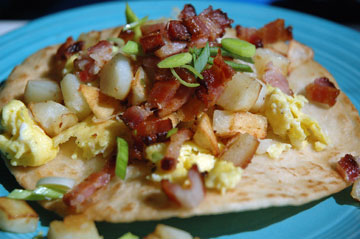 Eggbacontortilla